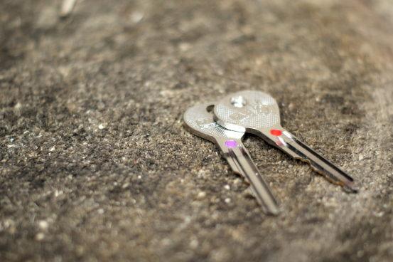 Moje klíče!