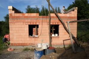 Hrubá stavba nového domku