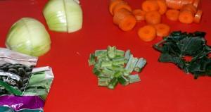 Zelenina čekající