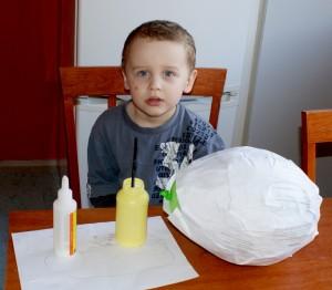 Tobík a začátek balónové tvorby