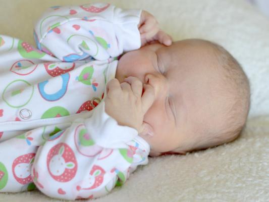 Lili od porodnické paní fotografky